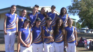 The WGHS team who won the Northern Districts Trophy in Hamilton last week.
